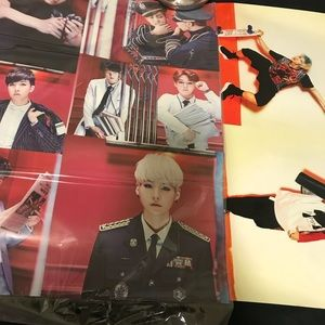 Other - BUNDLE OF (2): BTS & B.A.P Poster KPOP